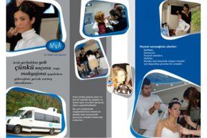 MVA Saç Tasarım Atölyesi Katalog Tasarım ve Baskı